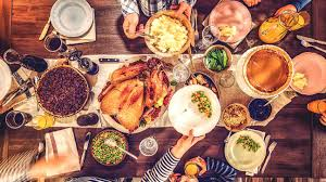 thanksgiving dinner calories and health