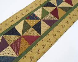 Primitive Table Runners by Handmade Quilts Table Runners And Toppers By Forgetmenotquilteds