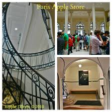 Apple Store Paris by Saturday Snapshots July 28 Paris Montage Ripple Effects