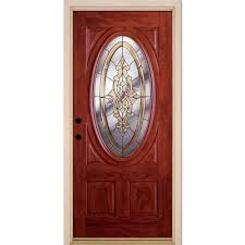 Home Depot Doors Interior Pre Hung by Feather River Doors 37 5 In X 81 625 In Silverdale Brass 3 4