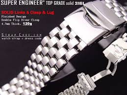 solid stainless steel bracelet images Fs 22mm 316l solid stainless steel unique engineer band ss jpg