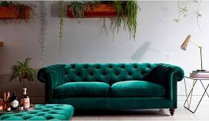 Teal Chesterfield Sofa Green Velvet Sofas Fashioned Susie A Manchester Lifestyle