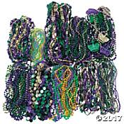mardi gras beaded necklaces bead necklaces orientaltrading