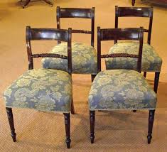 Regency Dining Chairs Mahogany Set Of Four Regency Dining Chairs Antique Dining Chairs