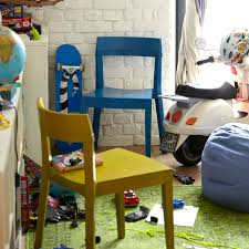 Esszimmerstuhl Leder Blau Stühle