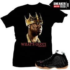 nike gucci foamposite t shirts to match sneakers nike foams