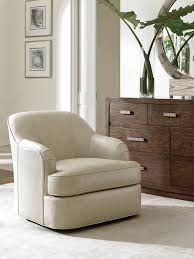 Swivel Chair Leather by Laurel Canyon Alta Vista Leather Swivel Chair Lexington Home Brands