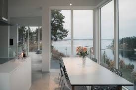 swedish home modern villa in sweden offers panoramic sea views