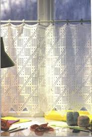 Crochet Lace Curtain Pattern Crochet Filet And More For Your Kitchen Free Patterns Crochet