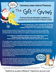 operation warm wishes presents the gift of giving christmas