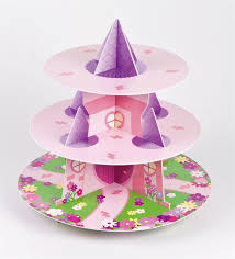 3 tier cupcake stand 3 tier princess castle cupcake stand
