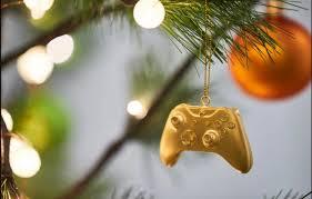 gold plated christmas ornaments tis the season 5k gold plated xbox christmas ornaments ohgizmo