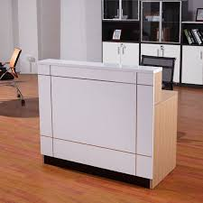 Wholesale Reception Desk Factory Wholesale Price Wood Reception Table Modern Office Front