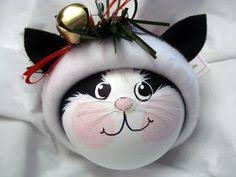black cat ornament handmade by townsendcustomgifts