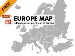 map of europe free free editable powerpoint map of europe graphic flash sources