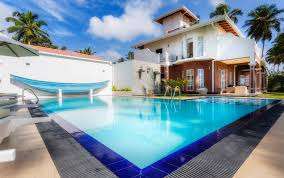 large pool in a luxury vacation rental in sri lanka near galle