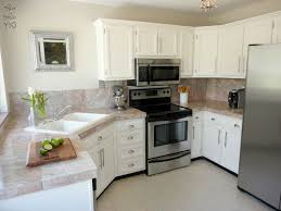 White Kitchen Cabinets With White Backsplash by Kitchen Room 2017 Excellent Small Kitchen With Dark Brown