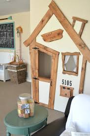 diy indoor playhouse transformation little vintage nest
