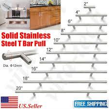 modern stainless steel kitchen cabinet pulls 6 25pcs t bar pulls handles solid steel kitchen bathroom cabinet hardware modern knobs a walmart