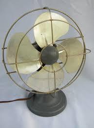 Office Desk Fan Vintage A C Gilbert Polar Cub Oscillating Machine Age Office Desk Fan