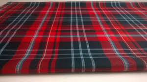 red tartan fabric red plaid fabric red and green christmas