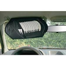 porta cd per auto ts 3 porta cd e organizer per parasole auto interno
