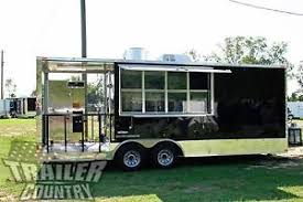 Used Kitchen On Wheels For Sale by Mobile Kitchen Concession Trailers Ebay