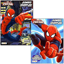amazon spider man coloring u0026 activity book 2 books 96