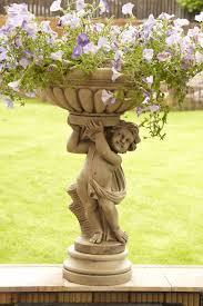 cherub garden statues ebay