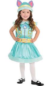 Party Halloween Costumes Kids Girls Paw Patrol Costumes Chase Marshall Skye U0026 Rubble Halloween