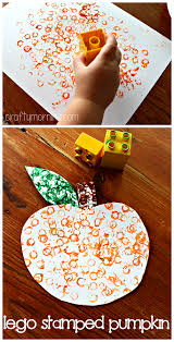 Halloween Crafts For Classroom - easy pumpkin crafts for kids to make this fall lego fall season