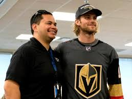 golden knights players lend a hand to their grief stricken city