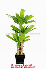 sjh020506 big artificial banana tree ornamental banana plants