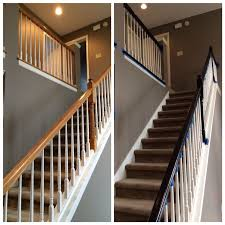 Banister Railing 7 Best Staircase Images On Pinterest Banisters Black Stair
