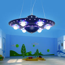 Childrens Lights For Bedrooms Pendant L Led Ufo Children Bedroom Boys Pendant L