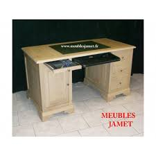 bureau ordinateur bois bureau ordinateur en bois beige meubles jamet