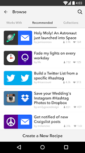 ifttt android if by ifttt 1 5 3 android