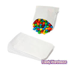 candy bags white gourmet candy bags 100 pack it up