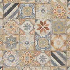 Floor And More Decor San Juan Deco Porcelain Tile 8in X 8in 100286988 Floor And