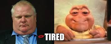 Baby Sinclair Meme - the many faces of rob ford featuring baby sinclair