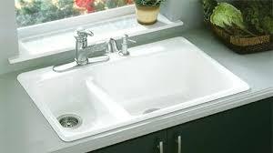 kohler cast iron farmhouse sink kohler cast iron sinks contemporary kitchen ningxu throughout 15