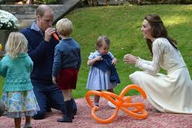 is princess charlotte a perfect cross between the queen and kate