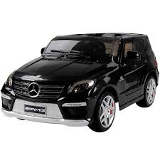 kids electric jeep licensed mercedes ml63 amg 12v kids electric jeep black
