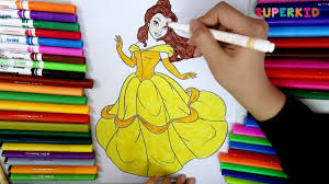 disney princess belle coloring pages princess belle