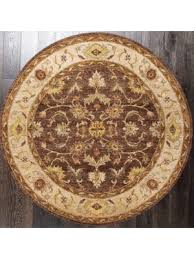 Brown Round Rugs Shop Round Rugs Online At Lowest Price Abc Decorative Rugs