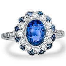 sapphire engagement rings antique sapphire engagement rings brilliant earth