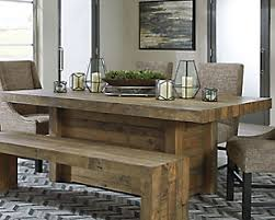 wood dining room sets kitchen dining room furniture ashley furniture homestore