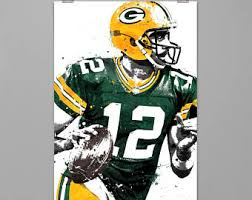 Green Bay Packers Bedroom Ideas Aaron Rodgers Etsy