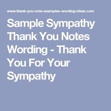 sympathy thank you cards the 25 best sympathy thank you notes ideas on funeral