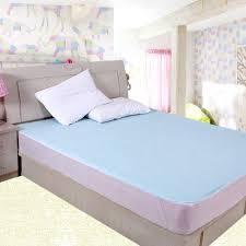 home design waterproof mattress pad waterproof crib mattress pad blue courtney home design glorious